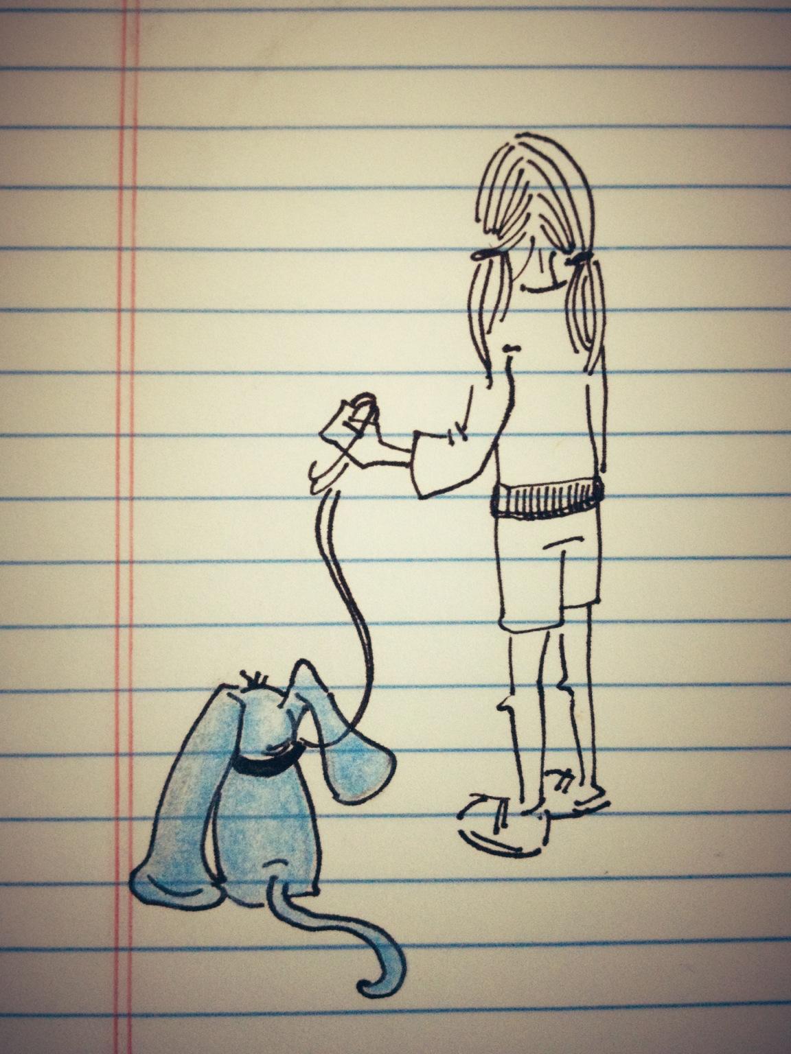 Sometimes… a doodle.